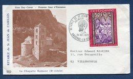 Andorre - Premier Jour - FDC - La Chapelle Romane - 1970 - FDC