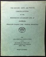 Woermann Steamship Line Hamburg Deutsche Seepost Westafrika Cockrill - Ship Mail And Maritime History