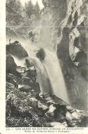 ( GORGES DE BALLENDAZ  )( 73 SAVOIE  ) ROUTE DE BRIDES LES BAINS A PRALOGNAN - Pralognan-la-Vanoise