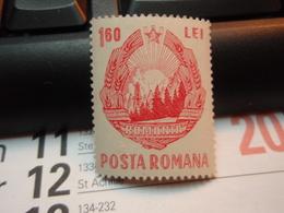 Timbre 160 Lei Posta Romana Neuf - 1948-.... Republics