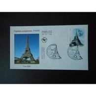 FDC - Capitales Européennes, Paris, Tour Eiffel, Oblit 4/11/10 Paris - FDC