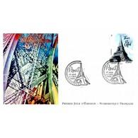 FDC LNF - Capitales Européennes, Paris, Tour Eiffel, Oblit 4/11/10 Paris - FDC