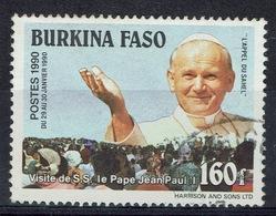 Burkina Faso, Pope John Paul II, 1990, VFU - Burkina Faso (1984-...)