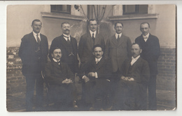 A Group Of Men Old Photo B200115 - Personas Anónimos