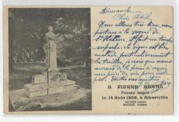 73 Savoie Albertville Monument Inaugué A Pierre Blanc Le 14/08/1905 évenement - Albertville