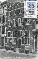 D38766 CARTE MAXIMUM CARD RR FD 2012 NETHERLANDS - MUSEUM REMBRANDTHUIS AMSTERDAM CP VINTAGE ORIGINAL - Architectuur