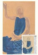 D38767 CARTE MAXIMUM CARD 1990 FRANCE - AUGUSTE RODIN DANCING CAMODIAN CP ORIGINAL - Modern