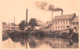 Antoing - Vue Sur L'Escaut - Cheminées D' Industries, Peniches - Antoing
