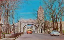 Canada Vieux Quebec La Porte St-Louis Fortifications Gate Old Quebec - Québec - La Cité