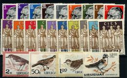 Uruguay Nº 669/77, 687/96, 706/9. Año 1960/63.. - Uruguay