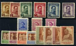 Uruguay Nº 529/34, 580B/D, 583/90. Año 1941/48.. - Uruguay