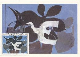 D38772 CARTE MAXIMUM CARD FD 1961 FRANCE - BY G. BRAQUE CP ORIGINAL - Modern