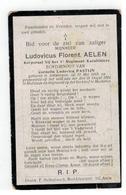 DP Ludovicus Florent AELEN Geb.Antwerpen 1889 Korporaal 1° Reg.Karabiniers Gesneuveld Te Hofstade 1914 - Religion &  Esoterik