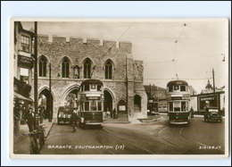 XX004264/ Großbritannien Southampton Straßenbahn Foto AK - Regno Unito