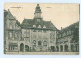 U1325/ Deutsch-Eylau Rathaus AK Westpreußen 1913 - Westpreussen