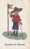 """Boy Scout , """"Invasion Be Blowed"""" , 1916 - Scouting"""
