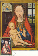 D38777 CARTE MAXIMUM CARD 1968 GRENADA - VIRGIN BY MEMLING CP ORIGINAL - Religie
