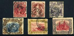 Uruguay Nº 81, 83, 101, 128/30. Año 1894/97. - Uruguay