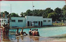 Tillsonburg Ontario Canada Community Swimming Club In Mermorial Park? Kinsmen's Club 1973 Postcard - Ontario