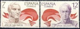 AMERICA - ESPAÑA - AÑO 1978 - Nº EDIFIL 2489-90 - 1971-80 Nuevos & Fijasellos
