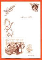 Menu Ancien Publicitaire Huitres Fines Paul Simon A Andernos ( Gironde ) - La Vente D'huitres - Menus