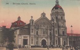 MANILA , Philippines , 00-10s ; Binondo Church - Filipinas