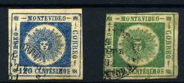 Uruguay Nº 16/7. Año 1860/2. - Uruguay