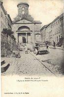 Carte  POSTALE   Ancienne De BADONVILLER - L'Eglise Après Incendie - Autres Communes