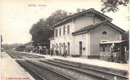 Carte  POSTALE   Ancienne De BAYON - La Gare - France