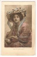 FF 120 OLD POSTCARD  , FEMALE FANTASY , Miss IVY LILIAN CLOSE - Mujeres