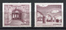 Suède - YT N° 838 Et 839 - Neuf Sans Charnière - 1974 - Svezia