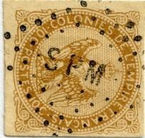 !!! PRIX FIXE : 10C AIGLE N°3  OBLITÉRÉ SPM (SAINT-PIERRE ET MIQUELON) - Aigle Impérial