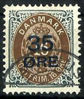 Dinamarca Nº 62 Usado. Cat.50€ - Usado