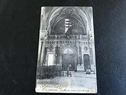 25 - LA LOUVESC Le Portique Interieur De La Basilique - La Louvesc