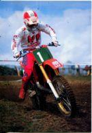 N°2031 T-cpsm Moto Cross -Jorgen Nilsson (Suède) - Sport Moto
