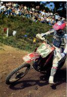 N°2033 T-cpsm Moto Cross -Yannig Kervella (France) - Sport Moto
