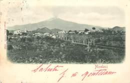ITALIE NICOLOSI CARTE PRECURSEUR - Altre Città