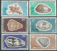 Afars Et Issas N° 422 / 27   XX Coquillages, Les 6 Valeurs Sans Charnière, TB - Afars Et Issas (1967-1977)