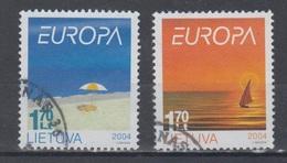 Lithuania 2004 Mi 842-3 Used Europa - Lithuania
