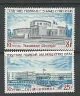 Afars Et Issas N° 395 / 96  XX  Bâtiments Administratifs, La Paire Sans Charnière, TB - Afars Et Issas (1967-1977)