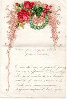 LETTRE ADRESSEE CHERS PARENTS 1906 - Manuscrits