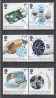 Great Britain 2019 - British Engineering, Set Of 6 Stamps, MNH** - 1952-.... (Elizabeth II)