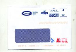 Lettre Flamme Ema Uk Foster - Affrancature Meccaniche Rosse (EMA)