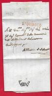 PREFILATELICA - GRANDUCALE TOSCANA - 1819 - Lettera Con Testo PIENZA ABBAZIA SAN SALVATORE - Bollo ST. QUIRICO - Italia