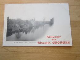 SAINT LO  PUBLICITÉ  Souvenir Des Biscuits Georges____________________  19 Meni  Lun - Saint Lo
