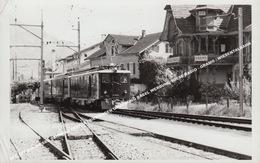 SBB CFF Deh 4/6 SBB ZAHNRAD GEPÄCKTRIEBWAGEN UMGEBUNG BASEL WERBUNG WIESE RADIO - GRAMO / WIESENTALBAHN ? - Trains