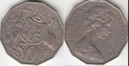 AUSTRALIA 50 Cents 1981 KM#68 - Used - Moneta Decimale (1966-...)
