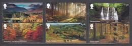 Great Britain 2019 - Forests, Set Of 6 Stamps, MNH** - 1952-.... (Elizabeth II)