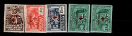 Portugal Portofreiheitsmarken Rotes Kreuz Ex 17 - 23 MLH * 8 - Portofreiheit