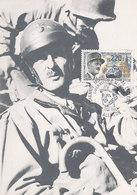D38781 CARTE MAXIMUM CARD 1987 FRANCE - MARECHAL LECLERC WW II CP ORIGINAL - WO2